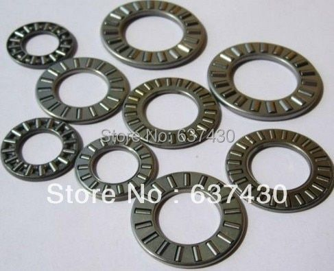 50pcs/lot  AXK5070 thrust needle roller bearing 50X70X3mm  thrust bearing(only bearing)
