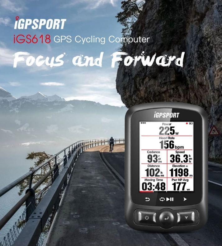 IGPSPORT ANT + GPS IGS618 Fahrrad Bluetooth Drahtlose Stoppuhr Wasserdicht IPX7 Radfahren Fahrrad Tacho Computer