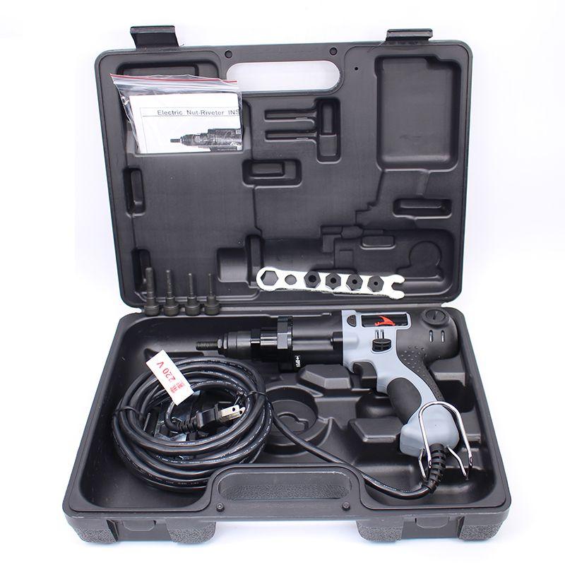 High Quality YSM10 M4/M5/M6/M8/M10 220V Electrical Rivet Nut Gun Electrical Riveting Tool Electrical Riveter Gun