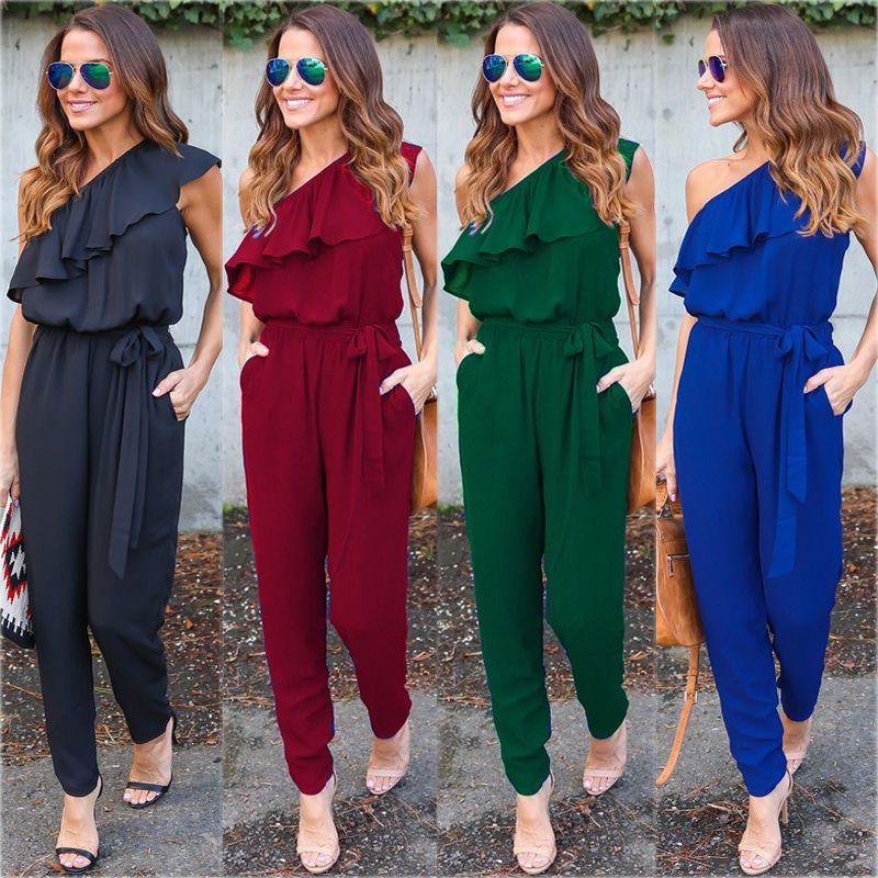 Новые модные летние Для женщин Женская Клубная одежда Playsuit Bodycon комбинезон Мотобрюки Новый Для женщин сексуальная одежда