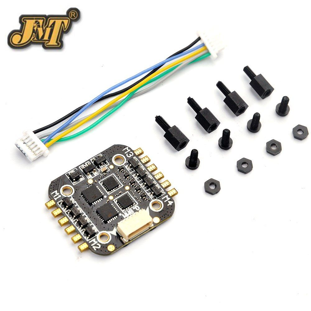 Super_s BS06D 4 In 1 6A BLHeli_S Brushless ESC Support DSHOT 2S LiPo Power Supply Speed Controller for RC Drone Quadcopter