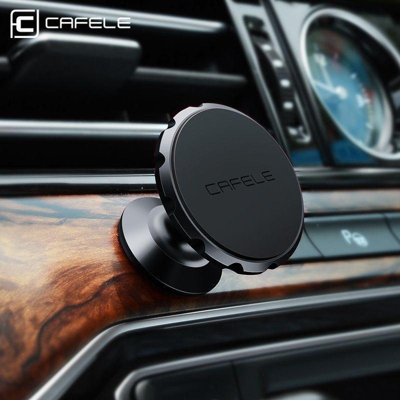 Cafele Original Universal Magnetic Car Phone Holder 360 Degree Rotation Magnet Car Mount Holder for iPhone Samsung Smart Phone
