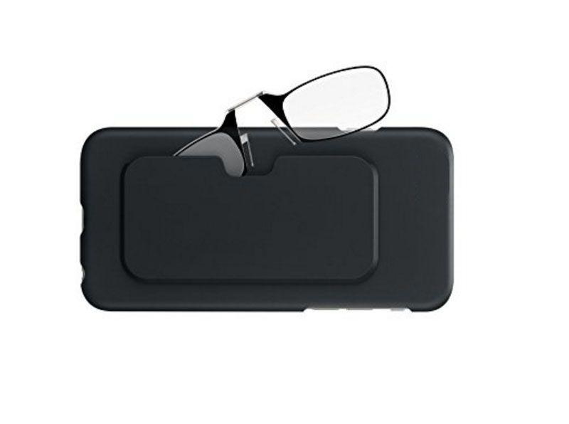 Stick Anywhere, Go Everywhere Women Men Reading Glasses Plus Universal Pod Case,black Frame, Black Case +1.0 +1.5 +2.0 +2.5 +3.0