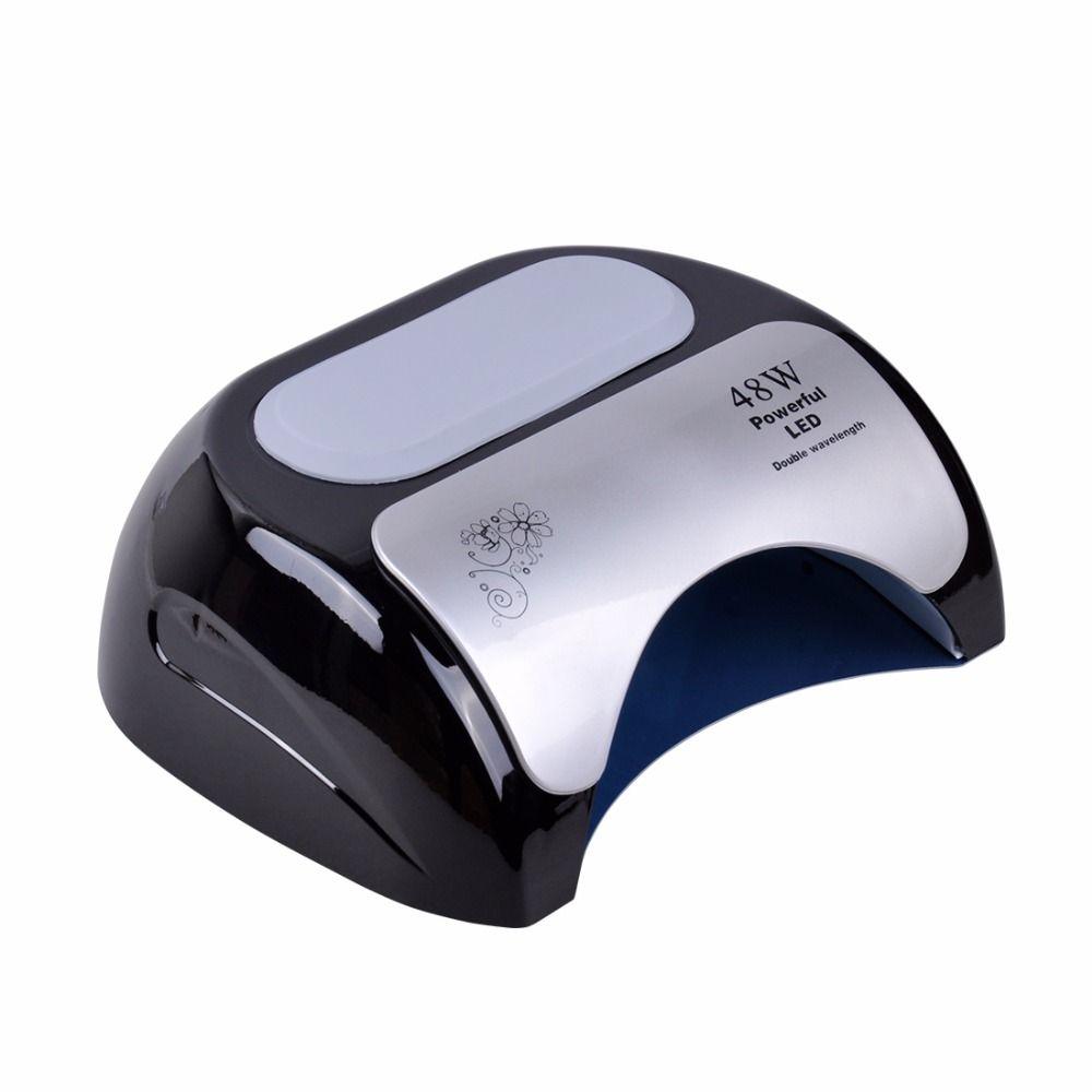 Biutee Professionelle 48 watt UV LED Nagel Lampe Trockner Für Nagel Gel Curing Kunst Maniküre Automatische Sensor Nagel Werkzeuge