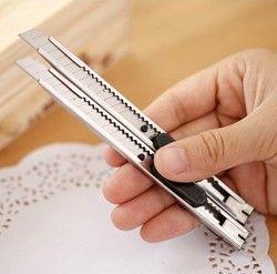 2 pcs/ensemble Art Couteau Art Fournitures Couteau Papier Et Bureau Couteau Diy Art Cutter Couteau Papeterie Outils De L'école Papier cutter