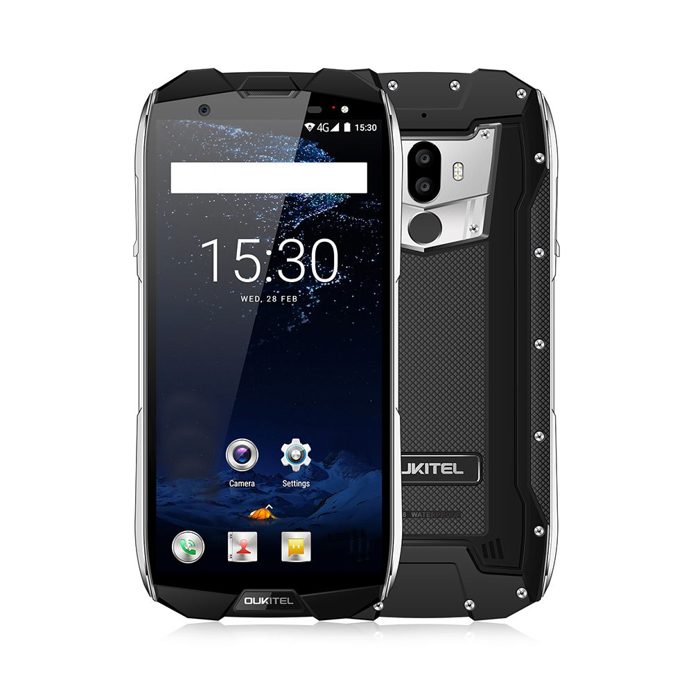 OUKITEL WP5000 4G Smartphone 5.7 Inch Android 7.1 Helio P25 Octa Core 2.5GHz 6GB RAM 64GB ROM IP68 Waterproof Dual Rear Cameras