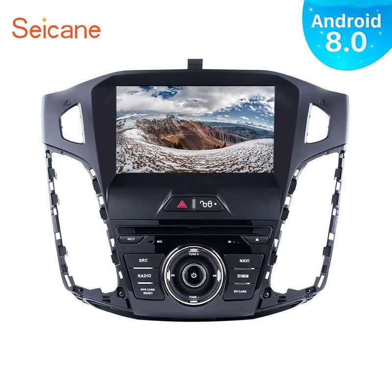 Seicane 1Din Android 8.0 8 Autoradio Für Ford Focus 2011 2012 2013 4 gb RAM Tochscreen Multimedia Player GPS navigation System