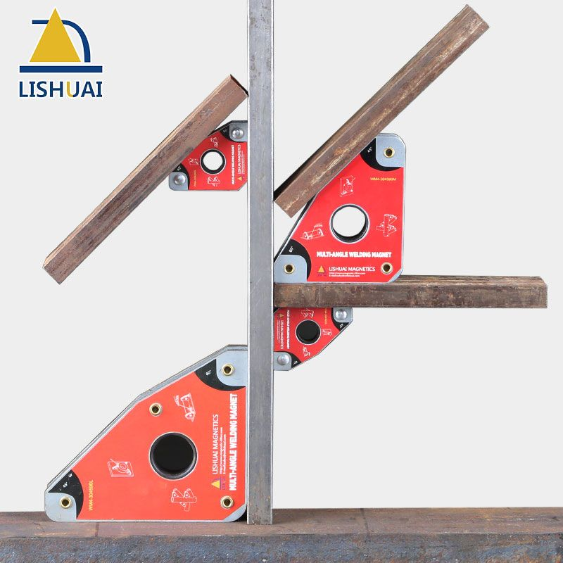 LISHUAI Multi-Angle Magnetic Welding Clamp/Strong Neodymium Magnet Welding Holder WM4