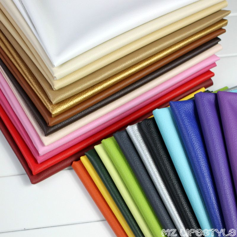 Buulqo gaufré beau tissu en cuir PU, tissu d'ameublement en cuir PU grande décoration tissu voiture rembourrage en cuir 50x140 cm