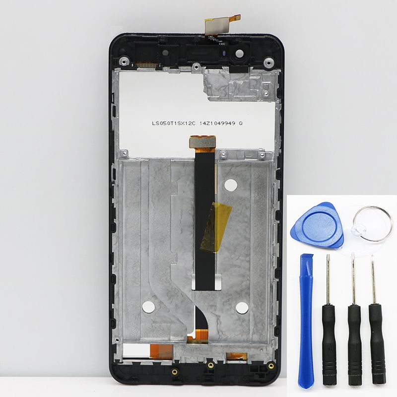 New original For Elephone P8 mini Touch Screen LCD Screen LCD Display Digitizer Assembly With Frame Replacement Parts 5.0inch