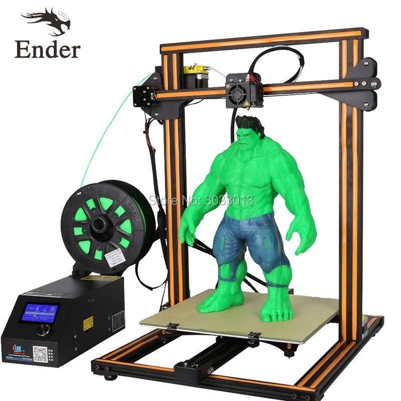 CR-10s/CR-10 3D Printer DIY KIT Dual Rod,Large print size,Filament Monitoring Alarm,Continuation Print I3 printer 3D Creality 3D