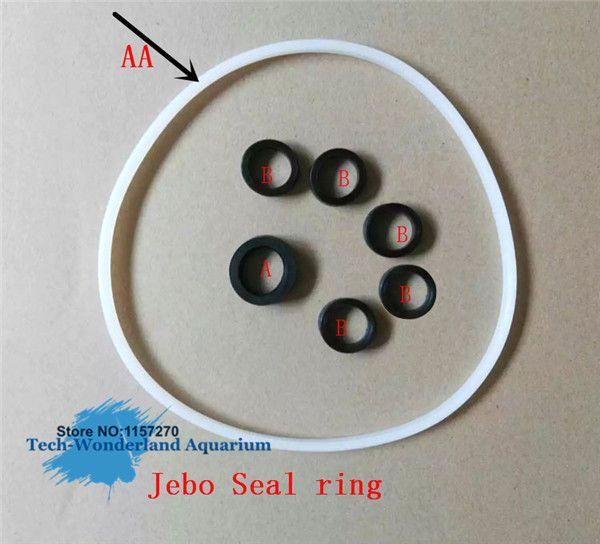 Jebo external filter seal ring for JEBO 825/828/829/835/838/839 filter vat the original motor cover sealing ring free shipping