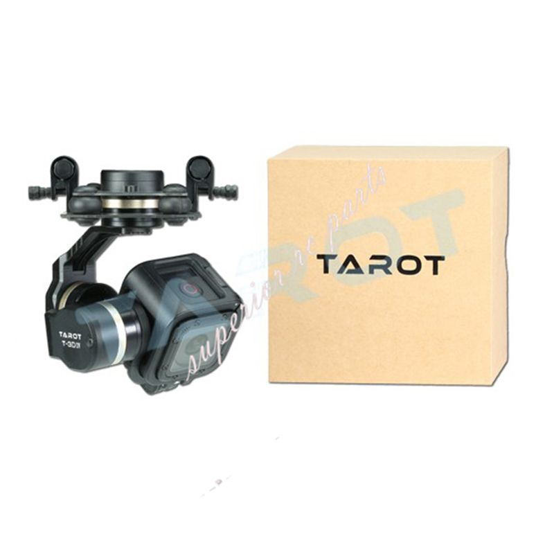 Tarot TL3T02 GOPRO T-3D IV 3 Axis HERO4 SESSION Camera Gimbal PTZ for FPV Quadcopter Drone Multicopter 50% OFF