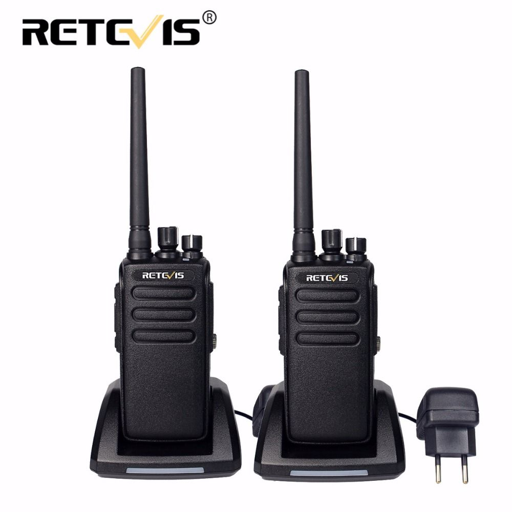 2pcs DMR Retevis RT81 10W Digital Walkie Talkie IP67 Waterproof UHF VOX Long Range 2 Way Radio Amador Ham Radio Hf Transceiver