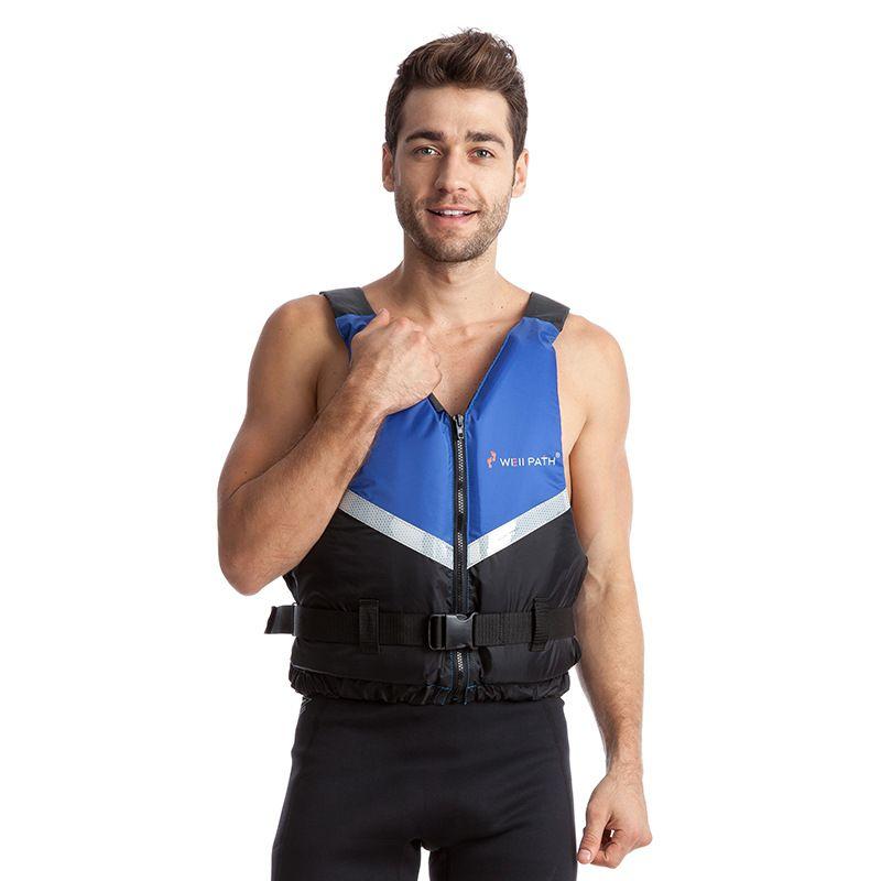 Adult Classic Series Life Vest Reactor Life Jacket for Men Boating Fishing Kayaking Rafting Paddle