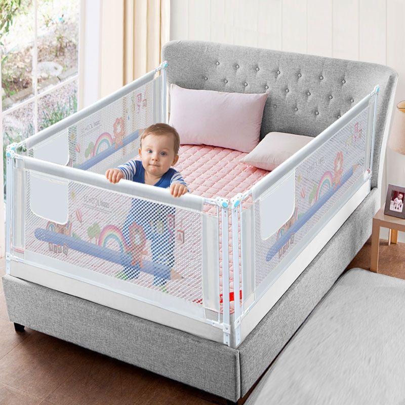 Baby Bett Zaun Hause Kinder laufstall Sicherheit Tor Produkte kind Pflege Barriere für betten Krippe Schienen Sicherheit Fechten Kinder Leitplanke
