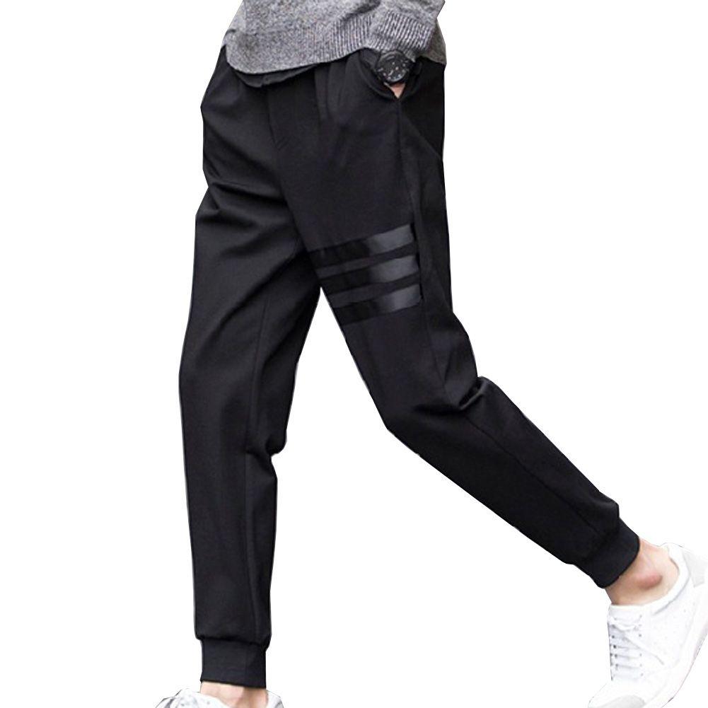Nueva primavera transpirable Pantalones skinnly lápiz Pantalones hombres slim fit Hombre Pantalones casual recta elástica Pantalones lápiz Pies Pantalones hombres