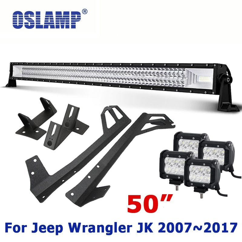 Oslamp For Jeep Wrangler JK Refitment 50