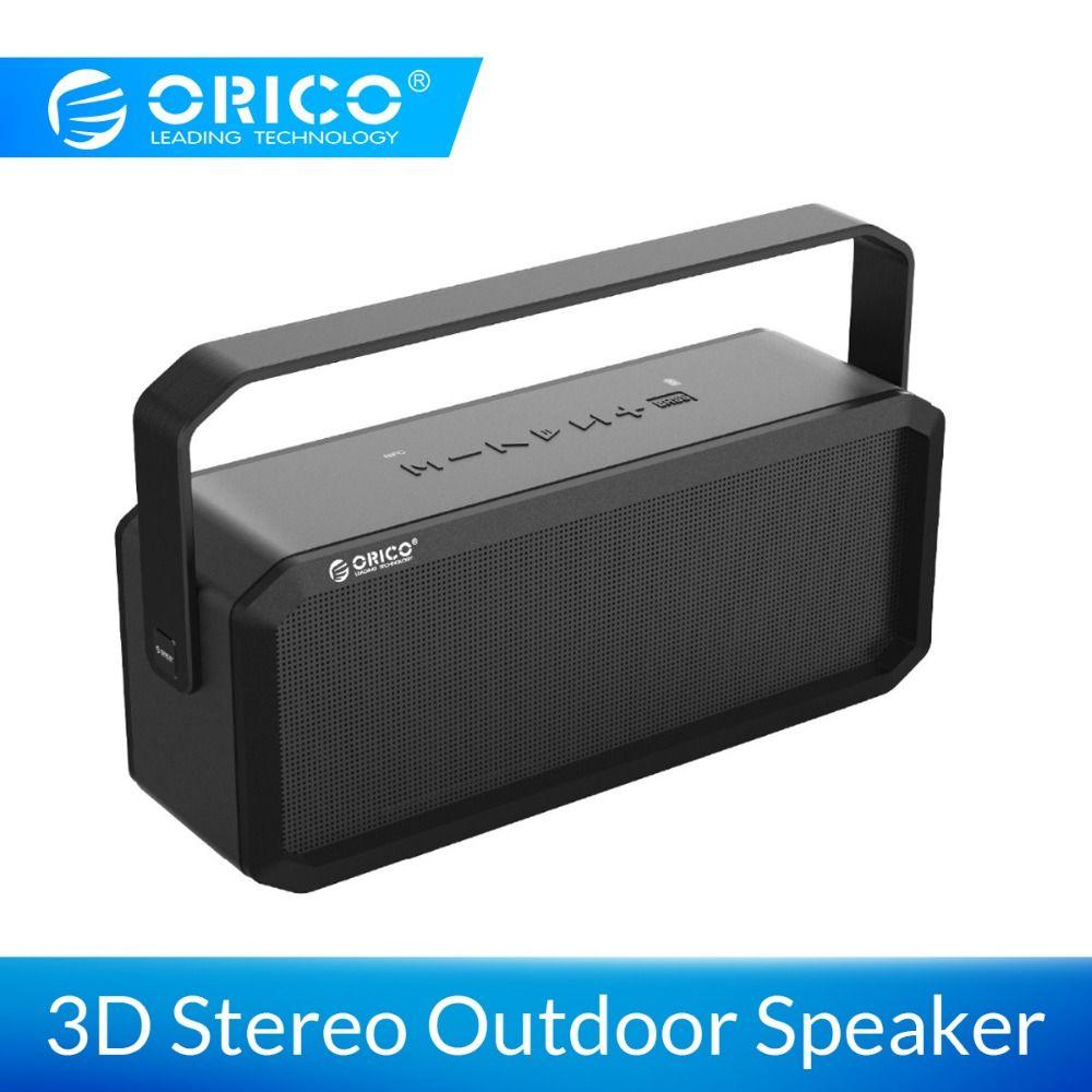 ORICO Outdoor Wireless Lautsprecher Tragbare Bluetooth Lautsprecher Bass Sound 3D Stereo Musik Surround Unterstützung Bluetooth AUX TF Karte