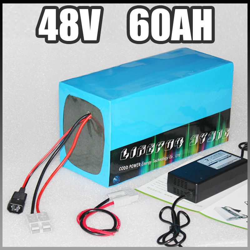 48V 60Ah electric bike battery 3000W 4000W Electric Bicycle lithium ion Battery 48v Samsung ebike battery