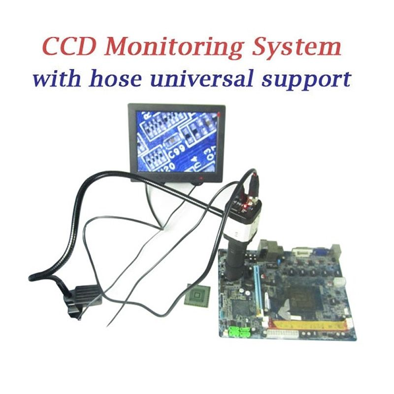 LY Cobra CCD camera supervising System 7-150X With 8'' TFT Monitor for BGA Rework Station