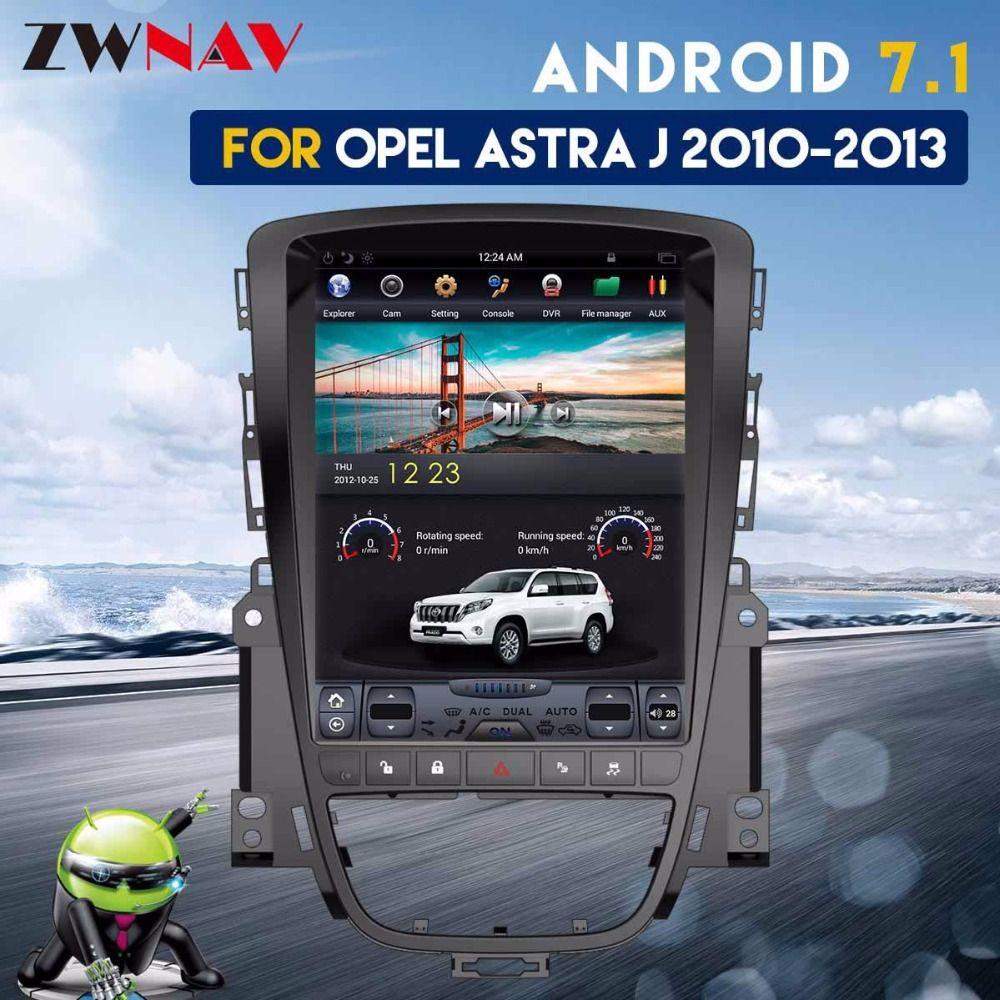 Tesla Style IPS Screen Android 7.1 Car GPS Navigation Auto Radio Headunit For Opel Insignia Vauxhall Holden Astra J CD300 CD400