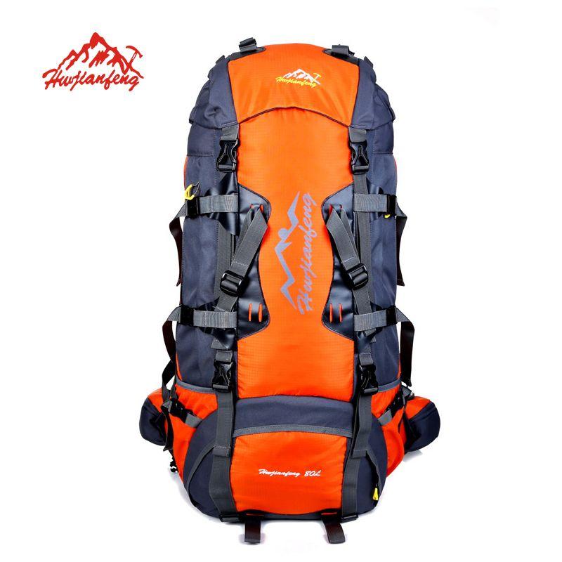 80L Große Outdoor-rucksack Camping Reisetasche Wandern Rucksack Unisex Rucksäcke Wasserdichte sporttaschen Klettern paket