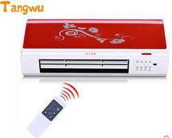 Livraison gratuite télécommande suspendue au mur chauffe chauffage électrique chauffage salle de bains ménage étanche chauffe-