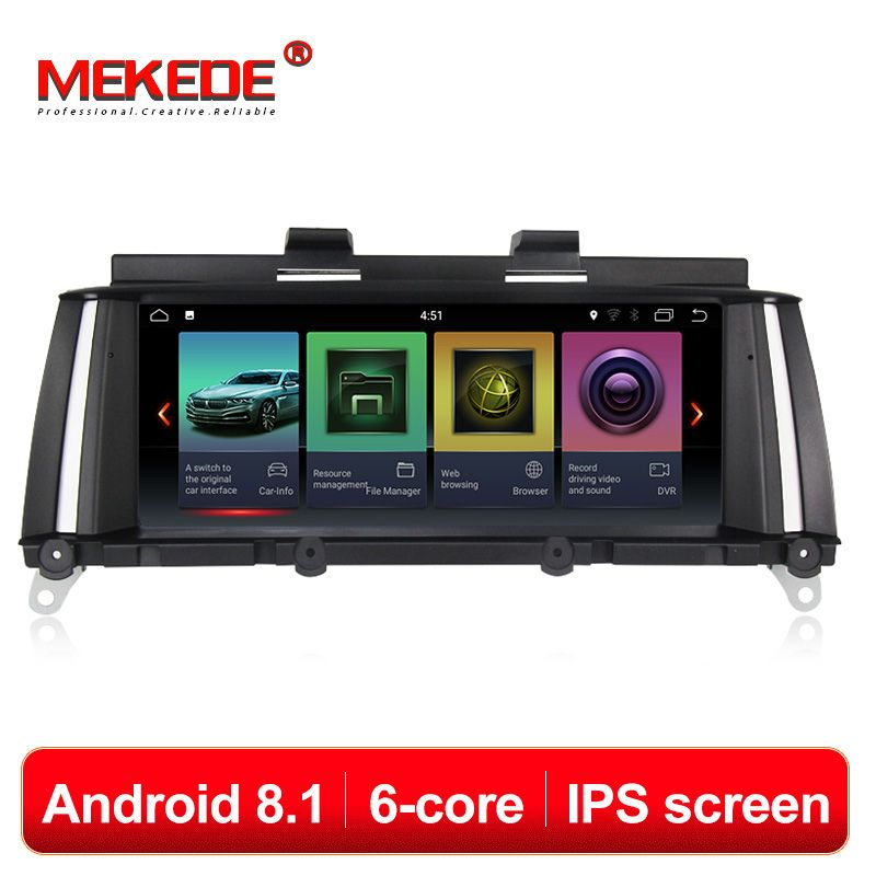 6 core android8.1 IPS auto Multimedia player für BMW X3 F25 X4 F26 (2010-2013) original CIC System (2013-2017) Original NBT