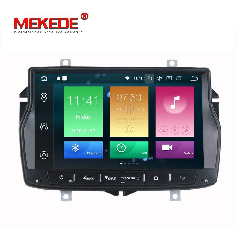 Neue Ankunft! Octa core Reine Android 8.0 Auto Multimedia Auto GPS navigation DVD player Auto Radio Audio Für Lada Vesta 4g WIFI BT