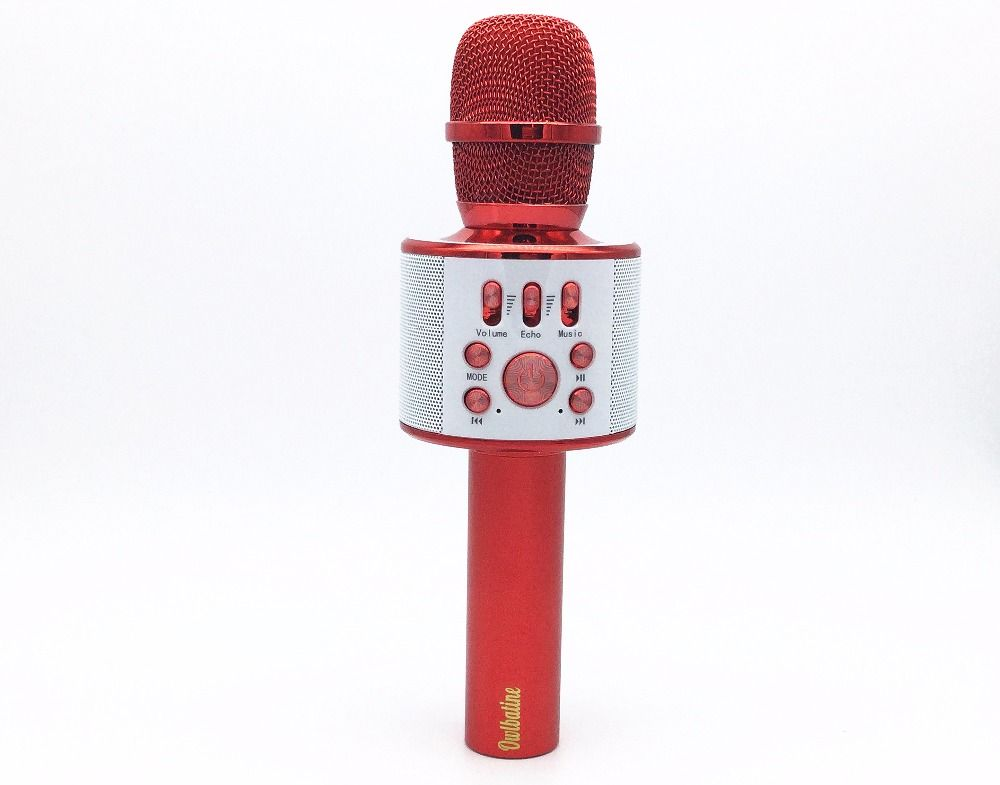 K26 Wireless Karaoke Microphone Bluetooth Handheld Phone MIC Music Speaker For Iphone Android phone Free shipping