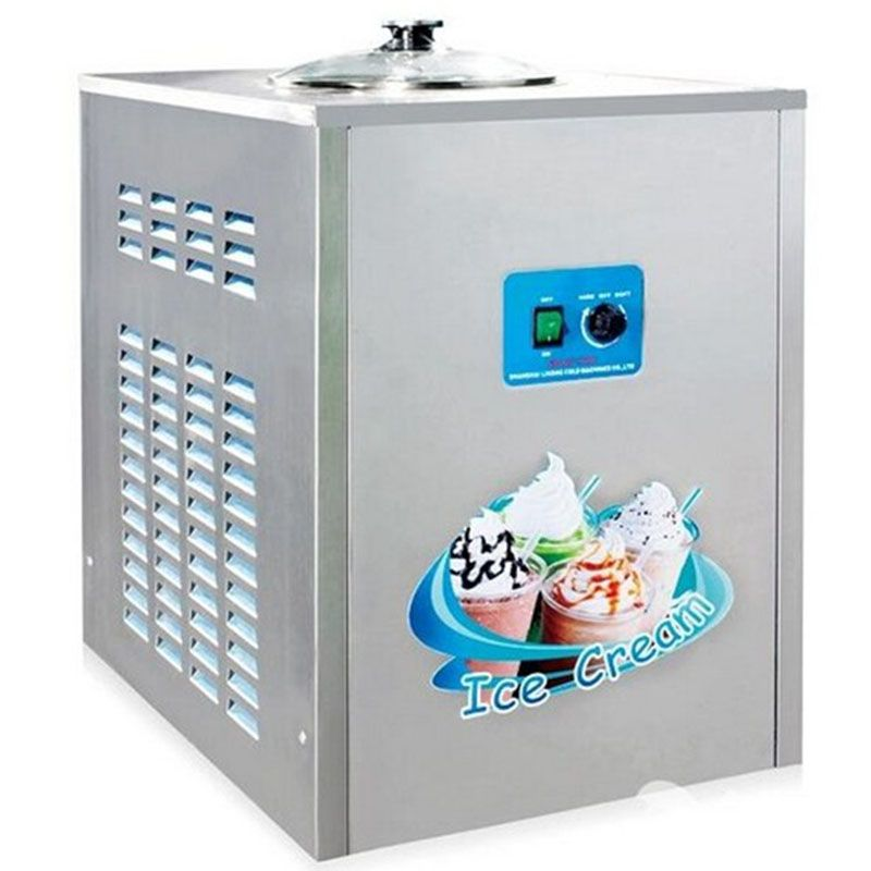 BQL-12Y Commercial Fried Ice cream Machine 12L/h In Acciaio Inox Ice Cream Maker 1360w 220 V/50Hz 1pc