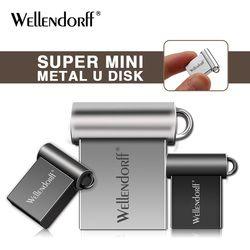Métal mini Usb Flash Drive 4 GB 8 GB 16 GB 32 GB 64 GB 128 GB Pendriver Flash Memory Stick Usb 2.0 Pen Drive New arrivée