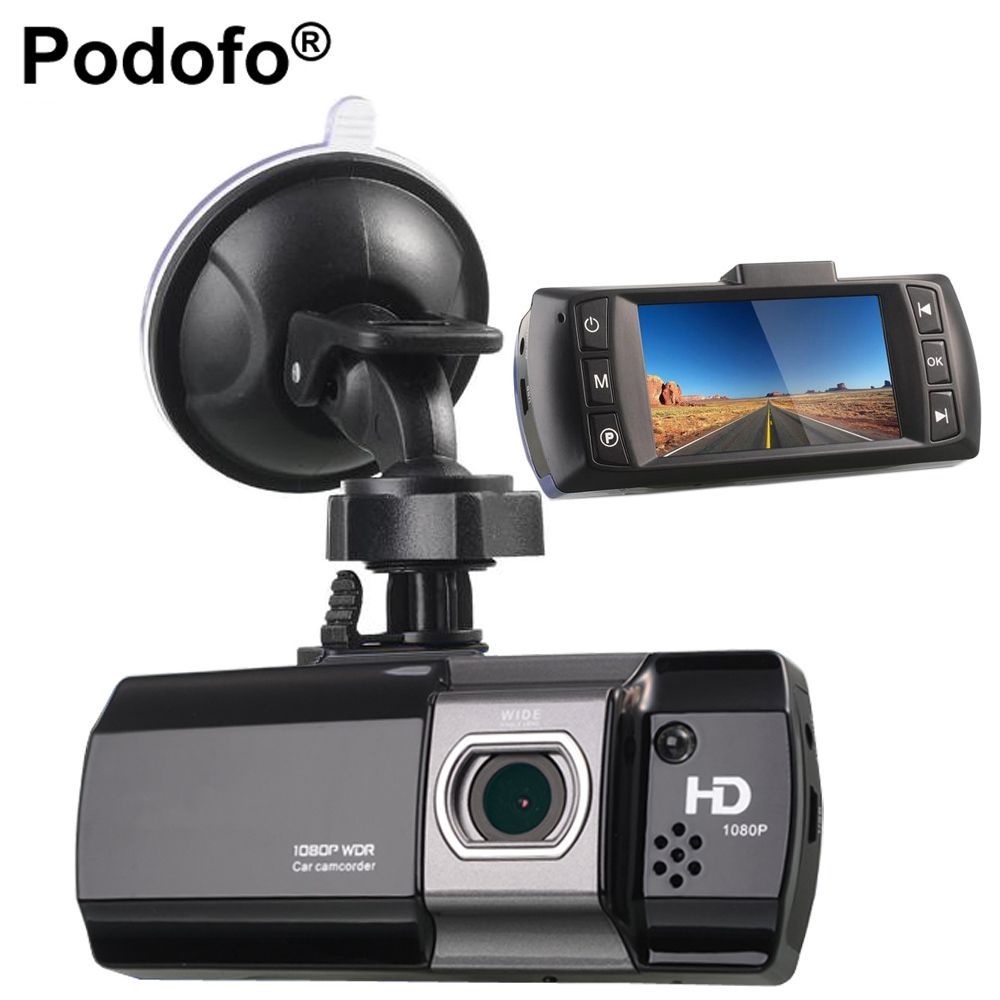 Podofo Car DVR Camera Novatek 96650 AT550 Video Recorder FHD 1080P Dash Cam G-Sensor Dash Camera WDR / Night Vision <font><b>Registrator</b></font>
