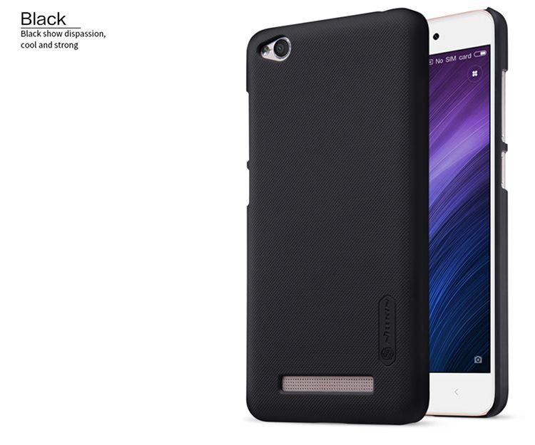 Xiaomi Redmi 4A Cas Nillkin Givré Bouclier PC Cas de Couverture Arrière Pour Xiaomi Redmi 4A 5.0 pouce Cadeau Protecteur D'écran
