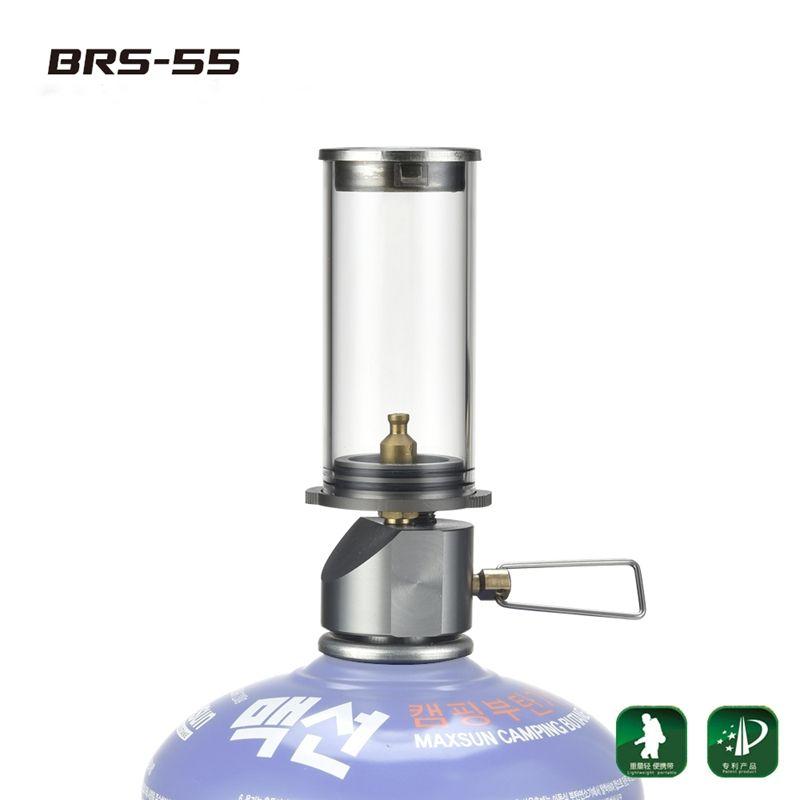 BRS-55 lampe de bougie onirique Portable en plein air Camping lumière gaz éclairage lampe de Camping tente lampe à gaz lampes et lanternes