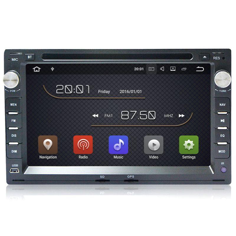 2G RAM Quad Core Android 8.1 Car DVD GPS For Old VW Transporter T4/T5 Bora Passat Mk5 Golf Mk4 Polo Jetta Peugeot 307 1998-2008