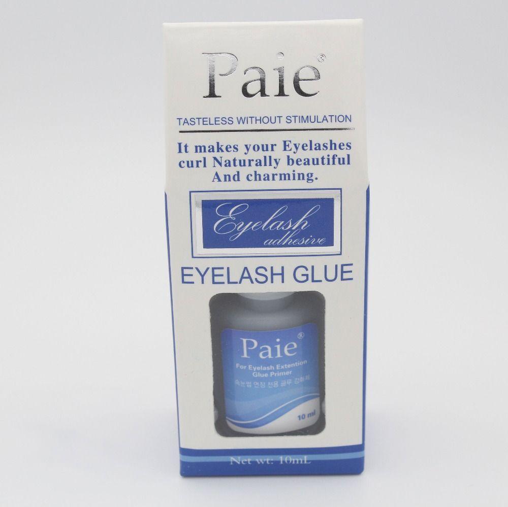 10 ML Maquillaje Paie Insípido sin Estimulación para Pestañas de Extensión de Pestañas Pegamento Adhesivo Pegamento Imprimación