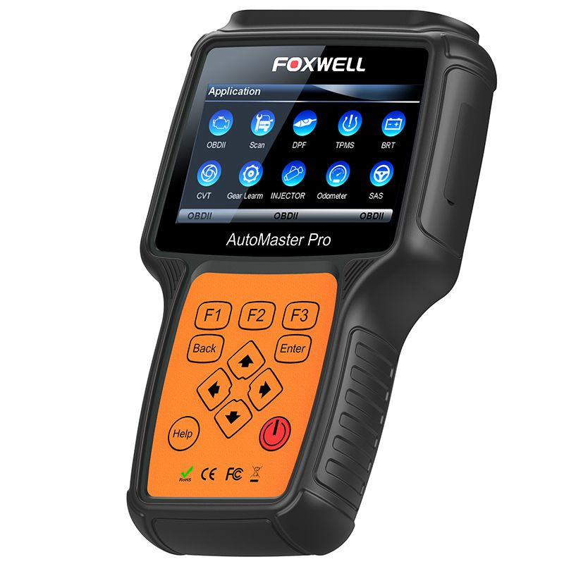 FOXWELL NT644 PRO Full System Professional Automotive OBD OBD2 Diagnostic Tool DPF Regeneration TPS Car Airbag ABS Reset Scanner