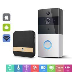 WIFI Doorbell Intercom Wireless Video Door Phone 720P Door Bell Camera Battery Power CCTV Security PIR Visual Intercom IP Camera