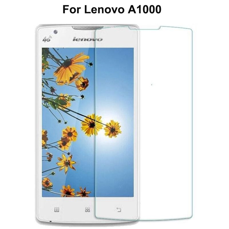 2PCS For Lenovo A1000 Tempered glass Cover 4.0in Screen Protector For Lenovo A 1000 2800 A2800 Moblie phone protective film Case