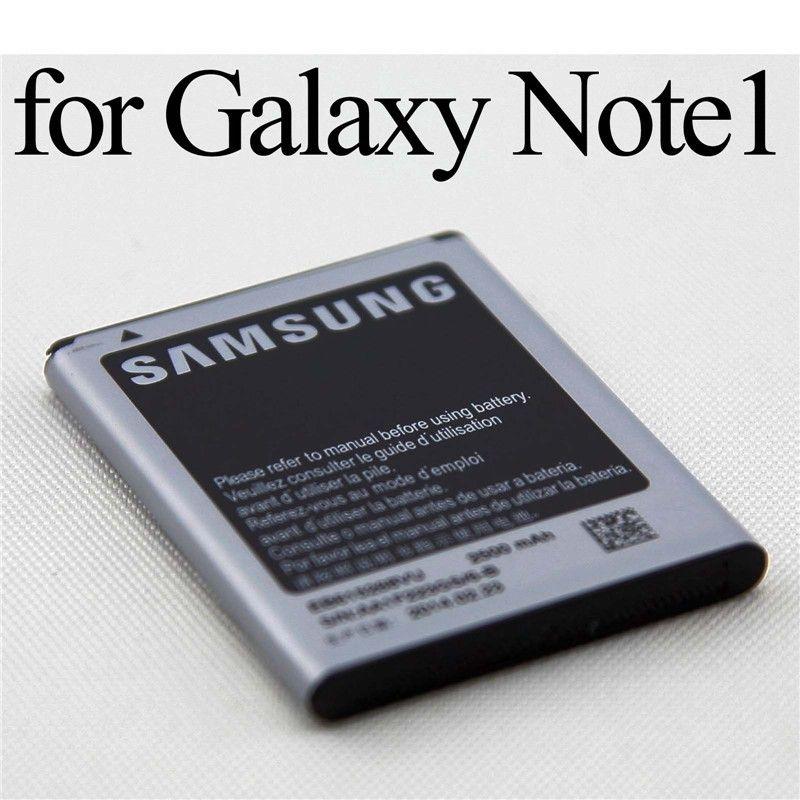 2500 mah lithium-ionen-batterie-wiedereinbau für samsung galaxy note 1 i9220 n7000 gt-i9220 i9220 i889 i9228 eb615268vu + spurhaltungszahl