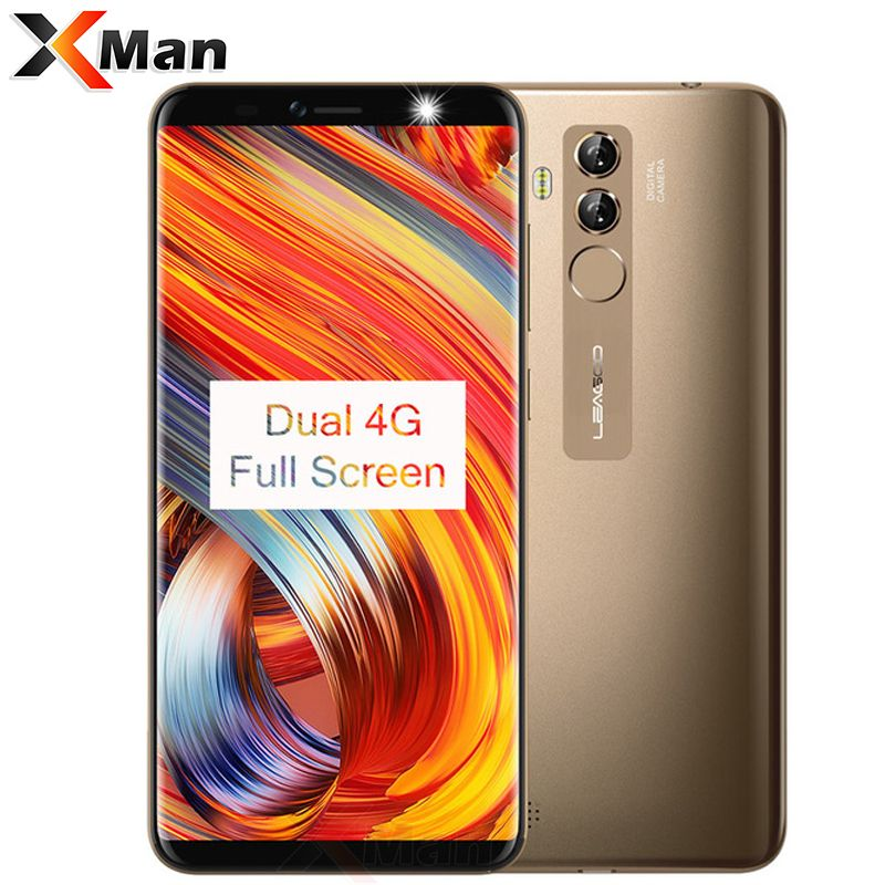 LEAGOO M9 PRO 4G LTE Full Screen 5.7inch 1080P 3000mAh 2G RAM 16G ROM MT6739V Quad Core Android 8.1 Fingerprint Mobile Phone