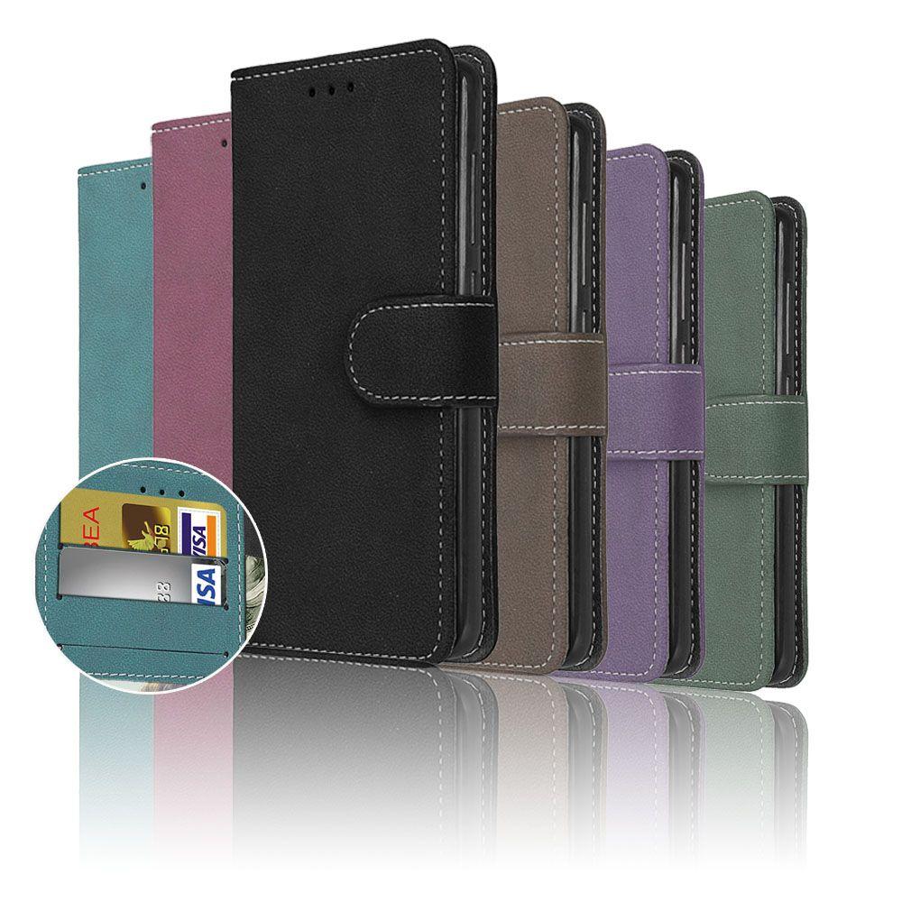 PU Leder Abdeckung Für Alcatel Pop C9 Fällen für Alcatel One Touch Pop C9 7047A 7047D OT7047 OT7047D Matt Abdeckung karte Halter Taschen