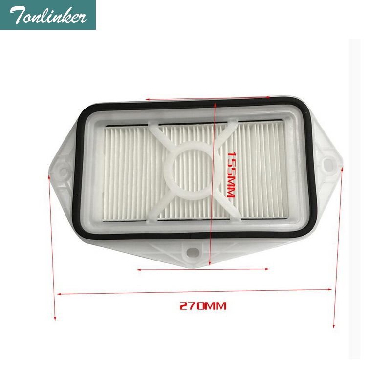 Tonlinker new 3 holes air filter for Vw Sagitar CC Passat B5 B6 B7 Golf Touran audi Skoda Octavia anti-PM2.5 external air filter