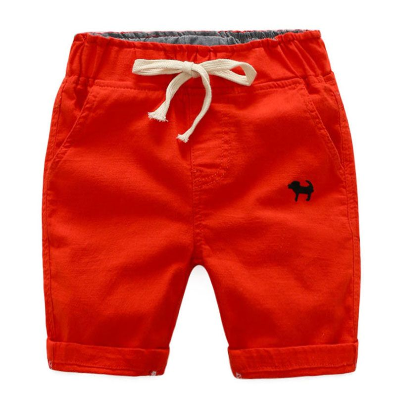 Summer Beach Baby Infant Boy Shorts Hot-sale Casual Embroidery Children Pants Trousers Clothing Elastic Waist Thin Kids Shorts
