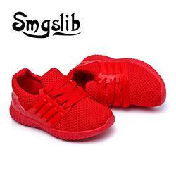 Niños Zapatos Niños tejido de punto transpirable zapatos para correr de malla niñas zapatos casuales niños niñas deporte zapatos antideslizantes niños zapatillas