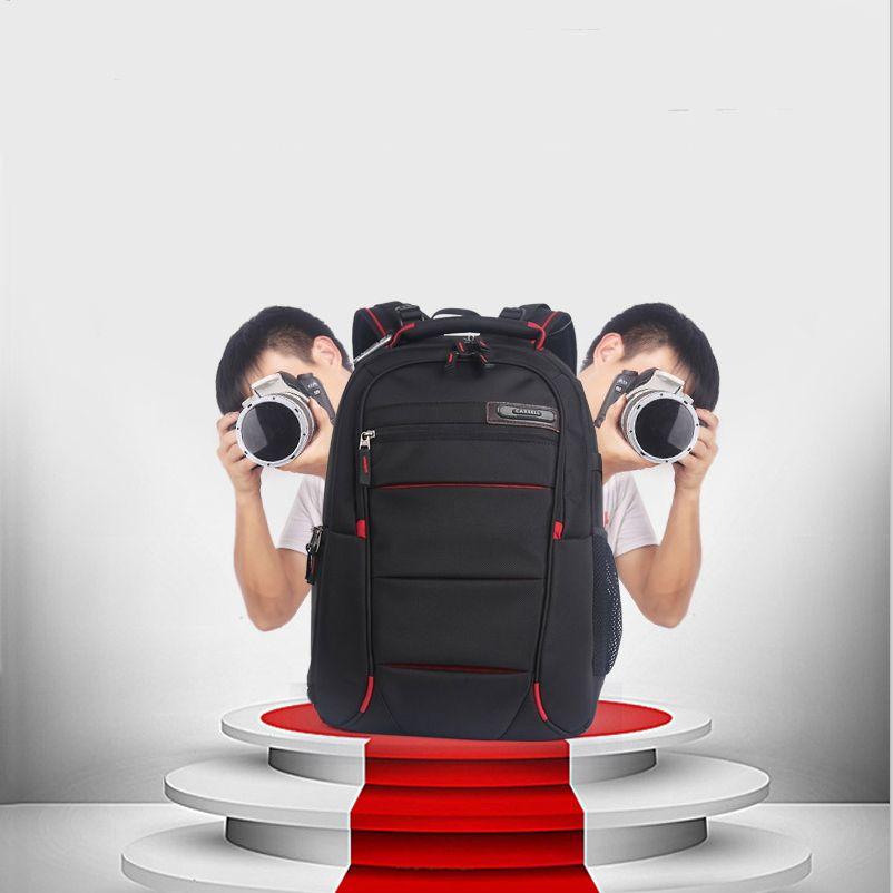 CAREELL sac C3050 hommes femmes sac à dos pour appareil photo numérique épaules grande capacité sac à dos pour Canon Nikon SLR sac pour appareil photo