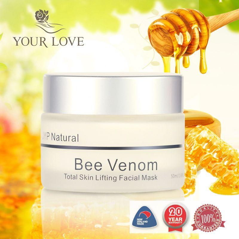 Original NewZealand JYP Bee Venom firming Mask Skin Lift Facial Cream Manuka Honey Night Cream Anti Aging Wrinkles Mask face
