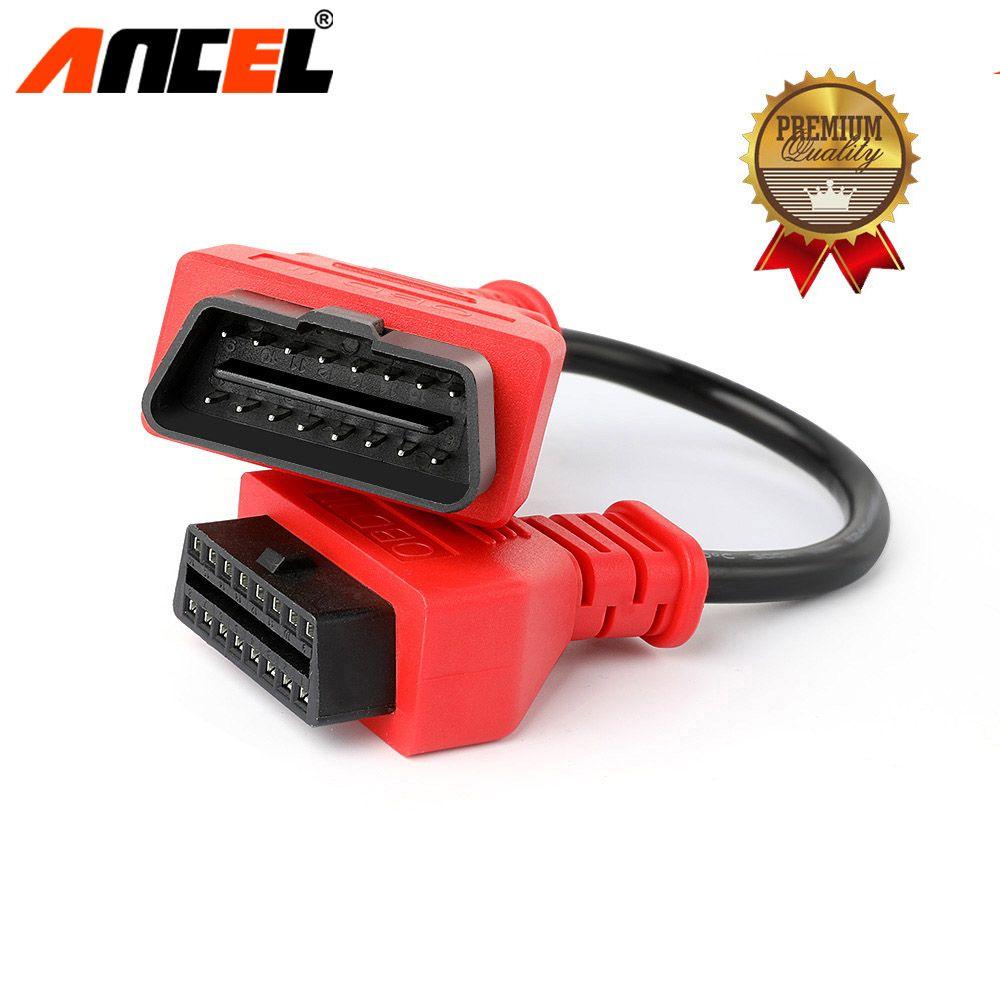 Ancel Universal Auto OBD2 Verlängerung Kabel 30 cm 16 Pin für OBD2 II EOBD Extend Anschluss Adapter Interface Auto Diagnose werkzeug